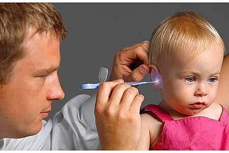 Наружный отит у ребенка лечение в домашних условиях